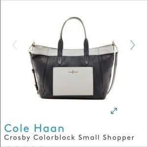 Cole Haas Colby shopper crossbody handbag purse 👛